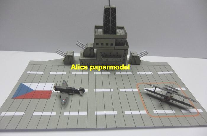 WWII UK aircraft carrier bridge Modern airport Flight deck plane airfield runway airdrome terminal aerodrome flying field hangar parking apron fighter scene model models on for sale shop store