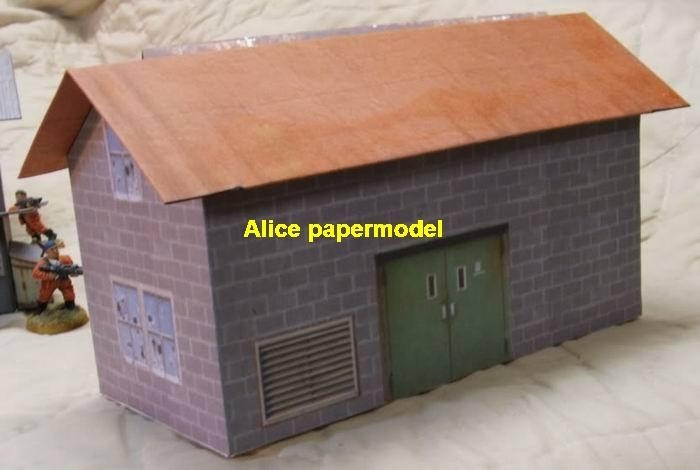 Sloped Roof house room street fighting city war warzone battlefield terrorist Iraq Syria Libra building scene ruin abandon Military Soldiers model diorama Scenery base models kit on for sale store shop