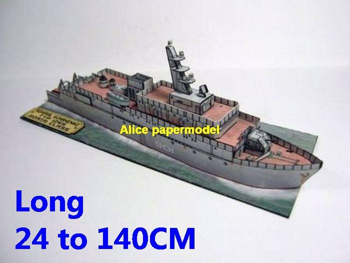 USSR Russia Admiral Gumanenko GORYA 1266 Minesweeper miner sweeper destoryer Torpedo boat military warship ship boat paper models on for sale store shop