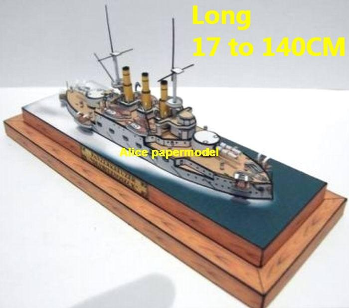 Russia Russian empire Battelship Panzerkreuzer light cruise Ironclad sea warfare battle Military Soldiers model scene diorama base models kit on for sale store shop