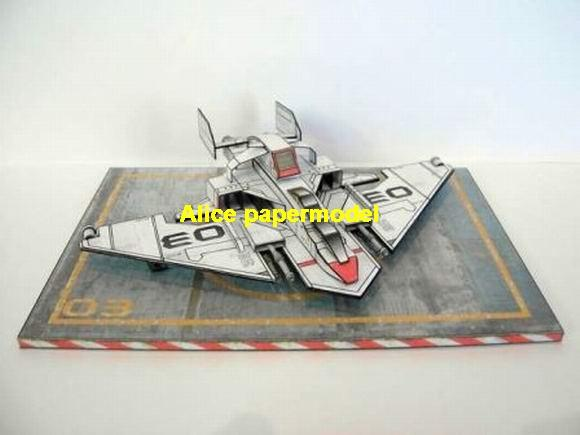 SCFI startrooper TAC space fighter spaceship ground attack jet Flight deck aircraft plane model models on for sale store shop