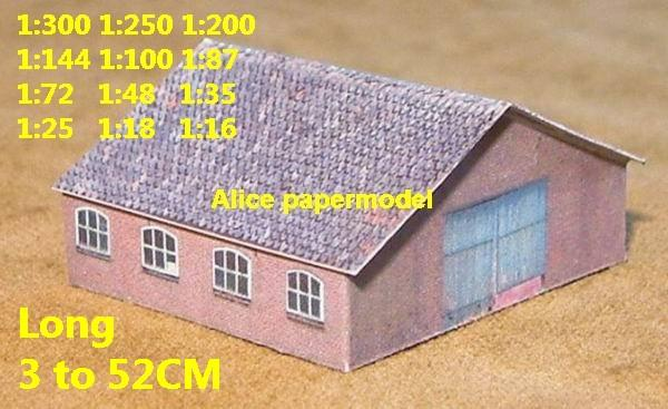 Europe France countryside country rural area village barn villa house WWII ruin abandon battlefield warzone area Military Soldiers model scene diorama Scenery base models kit on for sale store shop