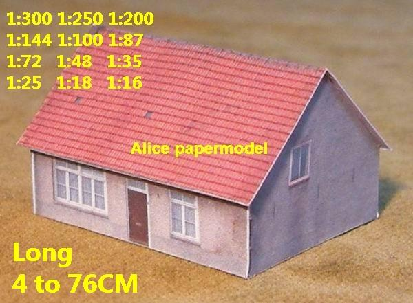 Europe France normandy countryside country rural area village villa house barn WWII ruin abandon battlefield warzone area Military Soldiers model scene diorama Scenery base models kit on for sale store shop