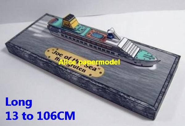 Norway Coastal Cruises Hurtigruten Science research models passenger liner cruise model scene on for sale store shop