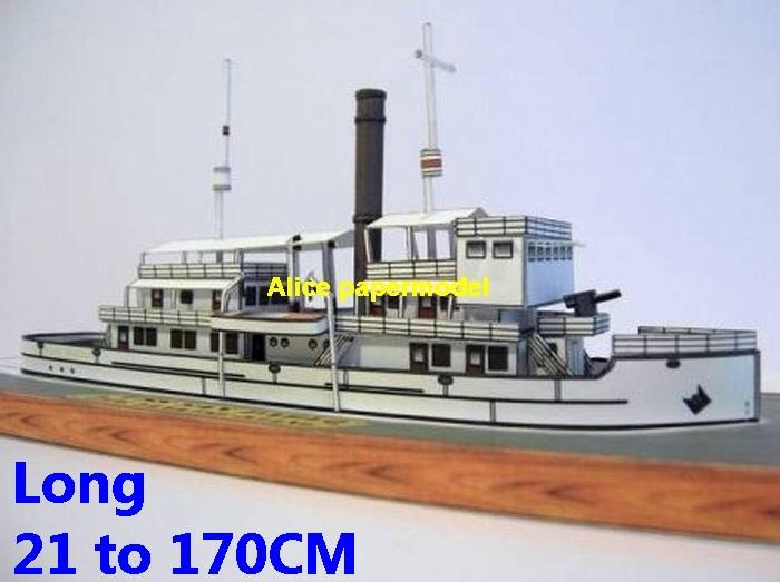 USA USS San Pablo steam boat steamship passenger liner cruise bulk freighter Fishing vessel ship sailing boat models cargo container tanker cruiser Ferry tugboat model scene paper on for sale store shop