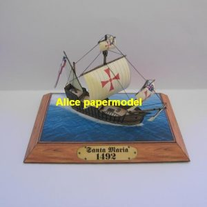 United Kingdom UK Christopher Columbus HMS Santa Maria Royal Navy ship sailship sailing ancient warship models model on for sale store shop