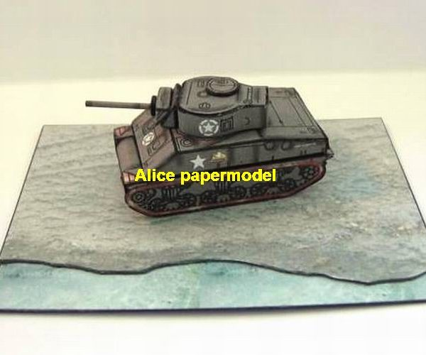 WWII USA US Battle M4A3 Sherman medium tank Battlefield Diorama warzone scene model models on for sale store shop