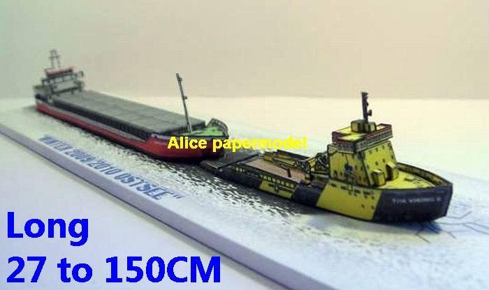 Tor Viking Ice Breaker South Pole North Antarctic Arctic bulk freighter vessel ship boat models model scene paper on for sale store shop