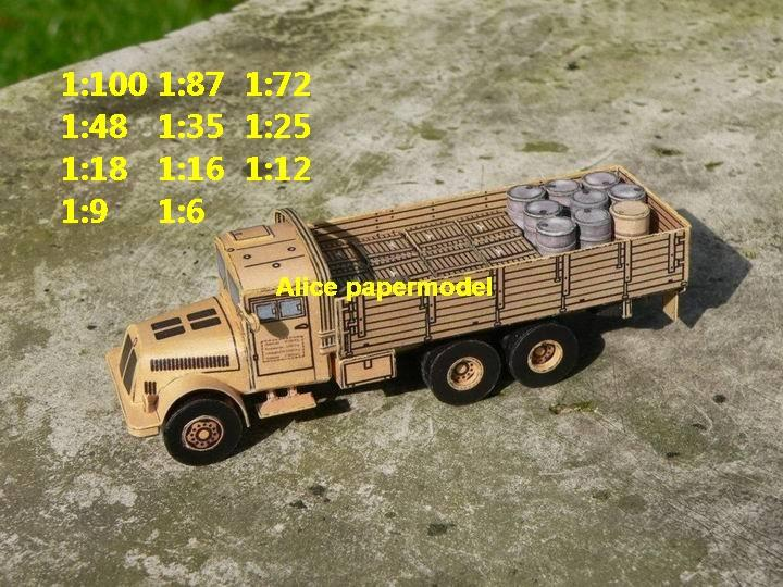 Germany German Tatra 111 army truck tank armored vehicle car artillery military big large scale size car model models soldiers soldier scene on for sale store shop
