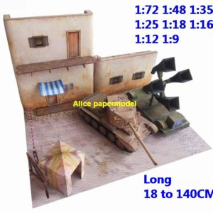 WWII WWI UK German Africa tank Trenches Trenche ditch battle village city fighting war warzone battlefield building scene ruin abandon Military Soldiers model diorama Scenery base models kit on for sale store shop