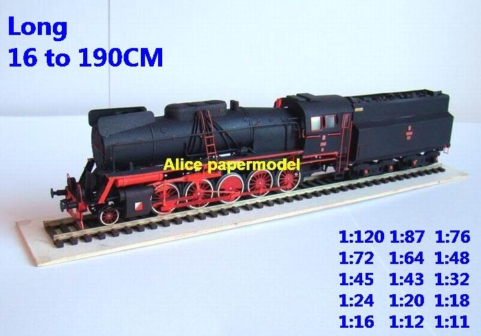 Steam train locomotive Passenger wagon waggon diesel subway rail big large size car model models soldiers soldier railway station scene on for sale shop store