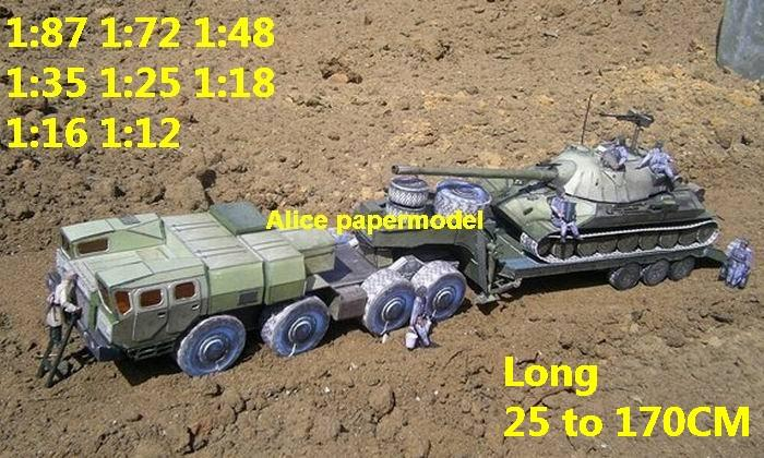 USSR the Soviet Union Russia Is-7 Is7 MBT tank MAZ543 MAZ military army truck train SAM missle launcher big large scale size car soldiers models model scene for on sale shop store
