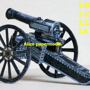 vintage old artillery cannon large scale size models model kit on for sale store shop