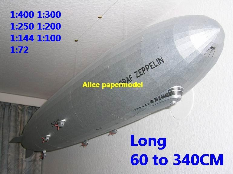German Gemany Graf Zeppelin LZ-127 LZ127 Airship balloon hot air hotair vintage old large big size scale plane models model kit on for sale store shop
