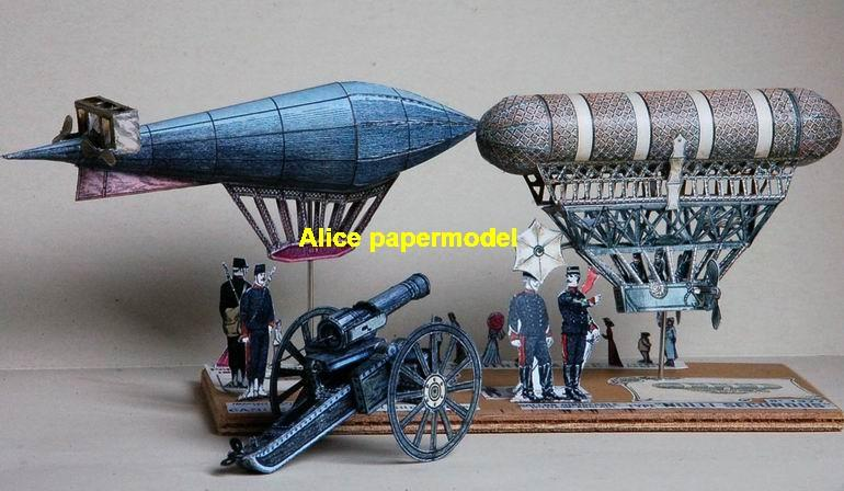 Nulli Secundus Dirigeable balloon Airship Rowing boat Zeppelin hot air hotair vintage old large big size scale plane models model kit on for sale store shop