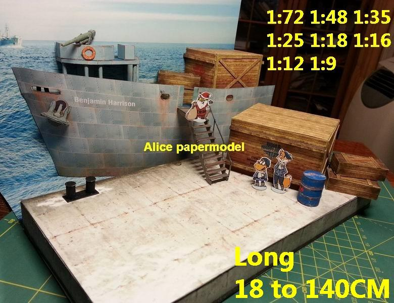 cargo ship port shipside dock base military NAVY harbor sailship warship naval battle battlefield warzone scene diorama models model kit on for sale store shop