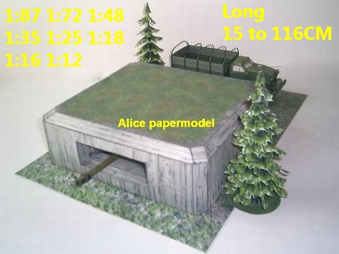 artillery cannon base bunker banner fortress gun turret fort ruin abandon battlefield warzone DC Marvel Avengers Military Soldiers Soldier model scene diorama base models kit on for sale store shop