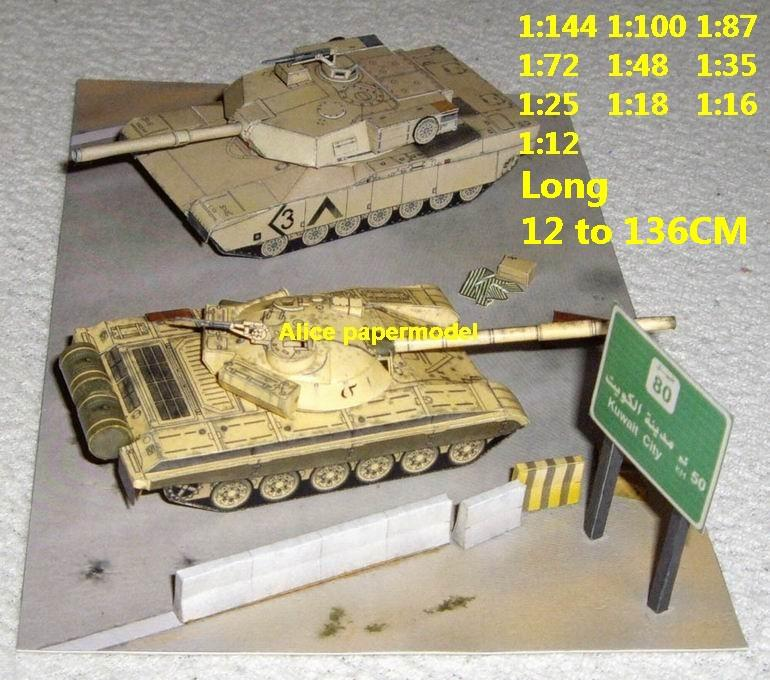 US M1 Abrams vs Iraq T-72 T72 tank battle Baghdad War city fighting war battlefield warzone building scene ruin abandon Military Soldiers model diorama Scenery base models kit on for sale store shop