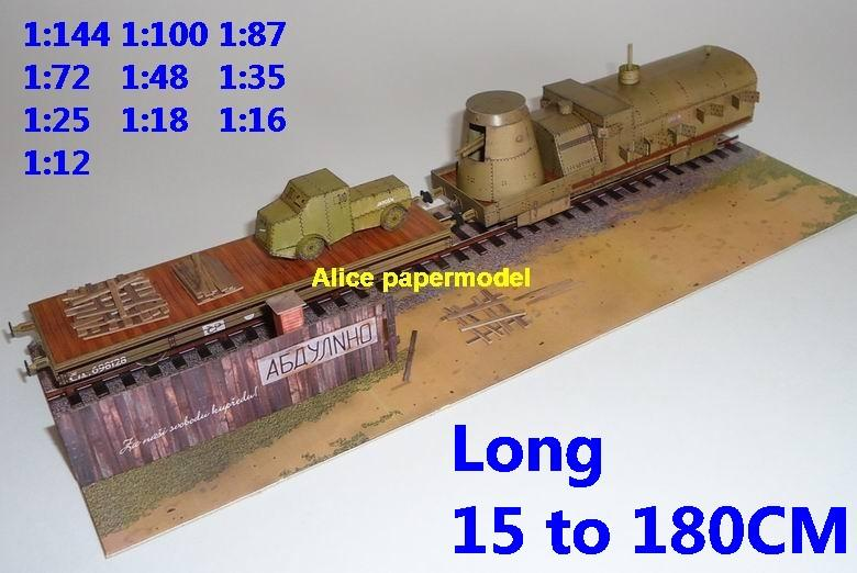 WWI WW1 Russia USSR Armoured train railwaygun railway gun tank battle city fighting war warzone battlefield building scene ruin abandon Military Soldiers model diorama Scenery base models kit on for sale store shop