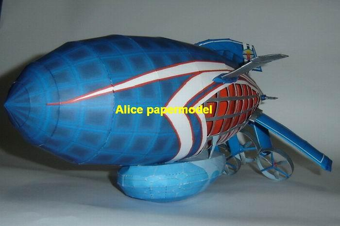 TV live advertising blue Airship balloon old vintage Zeppelin Rowing boat hot air hotair large big size scale plane models model kit on for sale store shop