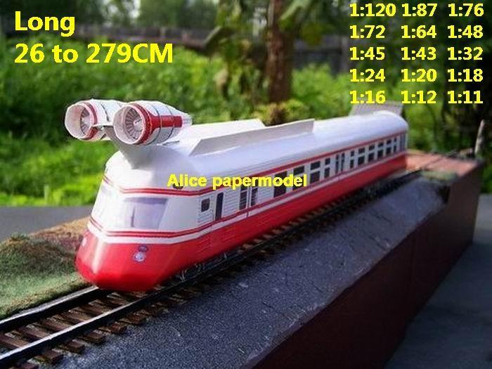 Future prototype SCFI Jet engine high speed train locomotive Passenger wagon waggon diesel subway rail big large size car model models soldiers soldier railway station scene on for sale shop store