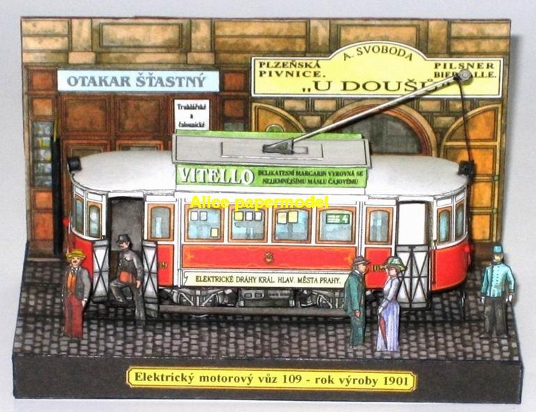 Europe EU traditional bus trolley tram railway station scene car Steam train locomotive Passenger wagon waggon diesel subway rail big large size car model models soldiers soldier on for sale shop store
