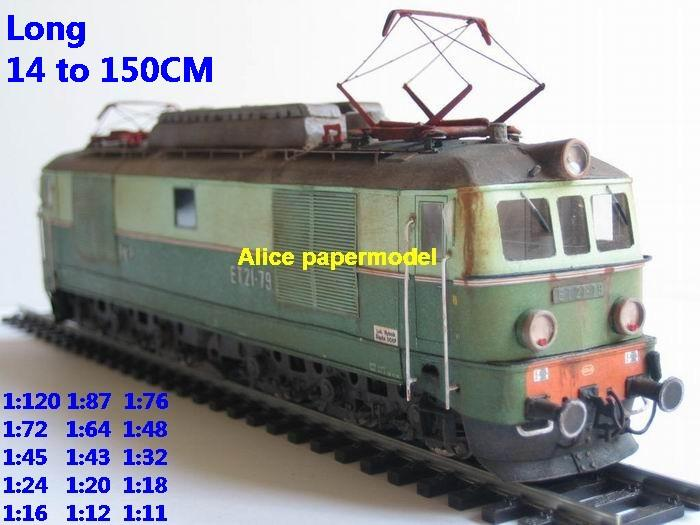 Electric locomotive train Passenger wagon waggon park Express subway tram rail big large size car models model soldiers soldier railway station scene on for sale shop store