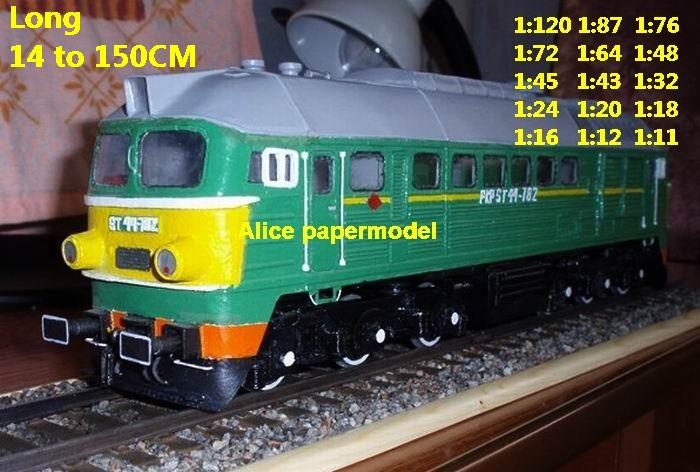 Electric train locomotive Passenger wagon waggon park Express subway tram rail big large size car models model soldiers soldier railway station scene on for sale shop store