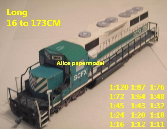 SD Road Switcher Canada USA US Canadian Pacific Railway Steam locomotive train Passenger wagon waggon diesel tram subway rail big large size car model models soldiers soldier railway station scene on for sale shop store