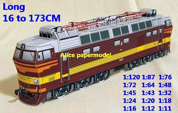 electric train locomotive Passenger waggon wagon diesel rail subway big large size car model models soldiers soldier railway station scene on for sale shop store