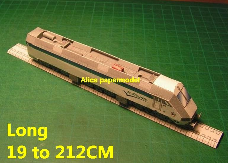 Europe Eurotunnel Shuttle locomotive high speed train electric Passenger wagon waggon Express subway rail tram big large size car models model soldiers soldier railway station scene on for sale shop store