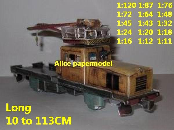 engineering repair train crane Passenger wagon Express diesel rail subway tram big large size car models model soldiers soldier railway station scene on for sale shop store