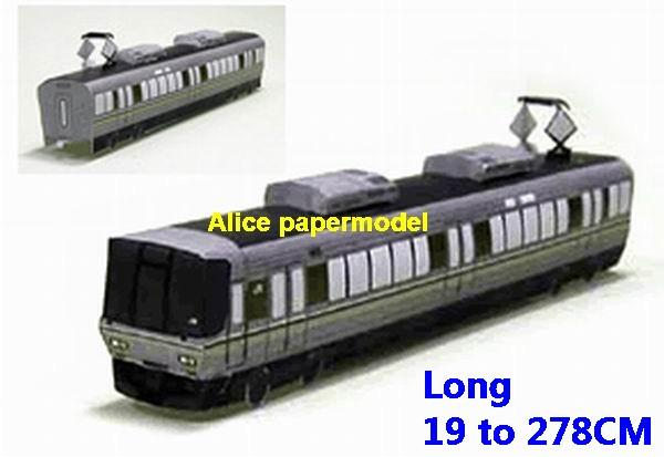 Japan subway Shinkansen tram JR train underground railway station rail big large size car models model soldiers soldier scene on for sale shop store