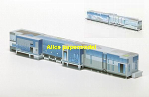 modern railway station scale train Express diesel rail building tram subway big large size car models model soldiers soldier scene on for sale shop store