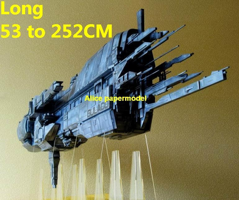 SCFI Aliens USS Sulaco space station battleship UFO alien starfighter cruiser fighter universe cosmos spaceship spacecraft aircraft Startrek starwars starwar starship starcraft big large scale size models model on for sale shop store