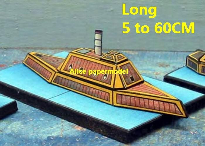 steam punk steampunk Ironclad warship battleship ship cruiser SCFI Future big large scale size models model on for sale shop store