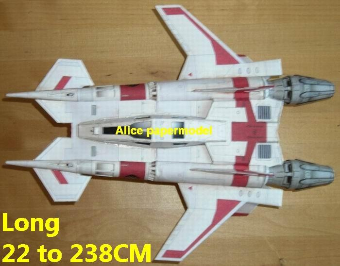 Future SCFI Buck Rogers Thunderfighter MkIII Thunder Fighter UFO alien starfighter universe cosmos spacecraft spaceship space station aircraft big large scale size models model on for sale shop store