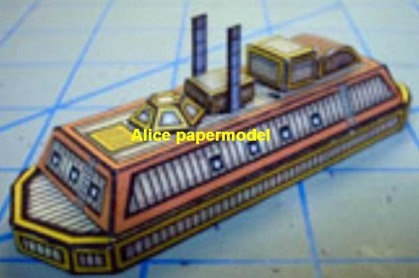 steam punk steampunk Ironclad warship ship battleship cruiser SCFI Future big large scale size models model on for sale shop store