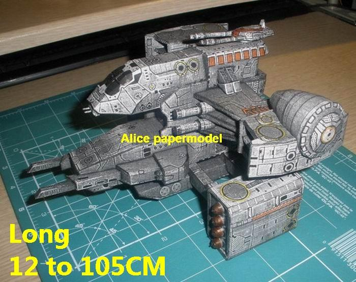 SPACE gunship starfighter cruiser SCFI alien UFO cosmos universe spacecraft spaceship station aircraft starcraft starship big large scale size models model on for sale shop store